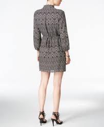 bar iii printed faux wrap dress only at macy u0027s dresses women
