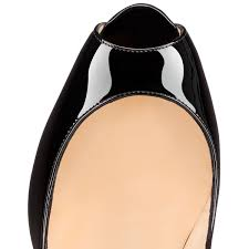 the newest christian louboutin jamie patent leather black