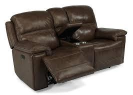 flexsteel latitudes fenwick recliner leather power console