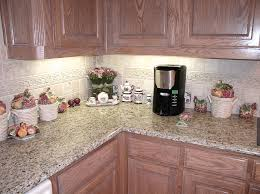 backsplash with giallo ornamental granite giallo ornamental