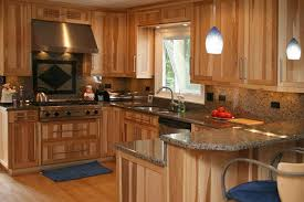 hickory kitchen cabinets images natural hickory wood kitchen cabinets models hickory kitchen