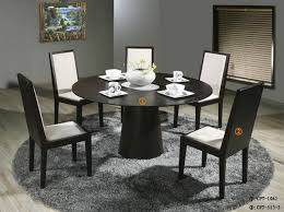 dining room table for 6 innovative round wood dining table for 6 glass top round dining