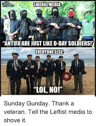 D Day Meme - liberal media crowder antifa are just like d day soldiers everyone