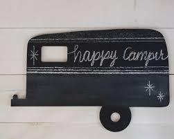 Chalkboard Home Decor Vintage Camper Chalkboard Home Decor Christmas By 163designcompany