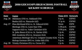 football schedule thanksgiving espn schedule