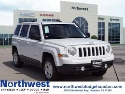 patriot sport jeep pre owned 2016 jeep patriot sport 4d sport utility in houston