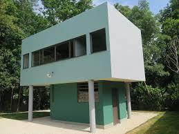 Villa Decoration by Le Corbusier Savoye House Le Corbusiers Villa Savoye Encapsulates