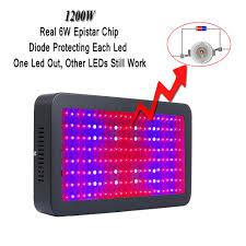 epistar led grow light led lights grow gianor 1200w full spectrum led grow light 200x6w