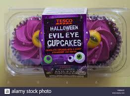 tesco halloween evil eye cupcakes chocolate cupcakes with a