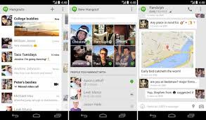 hangouts app android updated hangouts app for android brings sms support