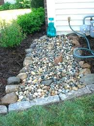 River Rock Garden Bed River Rock Landscaping Ideas Realvalladolid Club