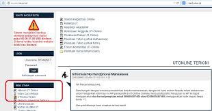 pendaftaran tutorial online ut panduan tuton tutorial online universitas terbuka daryusman
