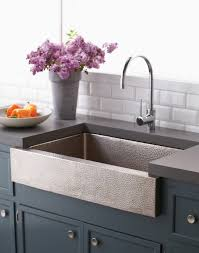 installing a farmhouse kitchen sink