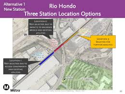 Csula Map Metro Studies New Locations For Commuter Rail Stations Urbanize La