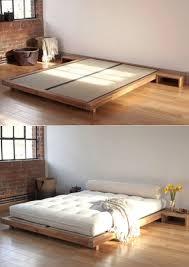 Japanese Low Bed Frame Best 25 Japanese Platform Bed Ideas On Pinterest Solid Wood Bed On