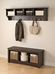 Entryway Storage Shelf by Coat Rack Entry Bench With Coat Rack Mini Entryway Storageentryway