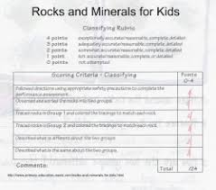 rubric rocks and minerals for kids jpg