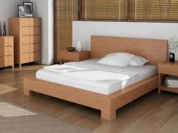 bedroom floating platform bed full size bed frame with