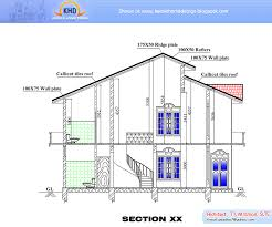 section plan of house home designs ideas online zhjan us