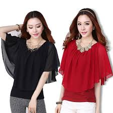 womens tops and blouses black chiffon blouse for s overlay top plus size s
