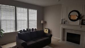 should the curtains match the carpet or wall color