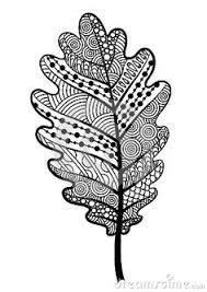 feuille blanche zentangle la noisette arbre