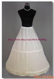 hoop wedding dress 2 hoop bridal petticoat prom underskirt crinoline slip ebay