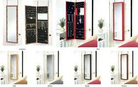 wall mounted jewelry cabinet wall mounted mirrored jewelry armoire patoskey com