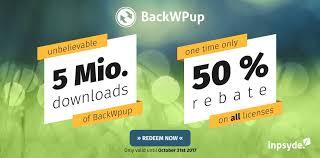 we celebrate 5 million backwpup downloads backwpup