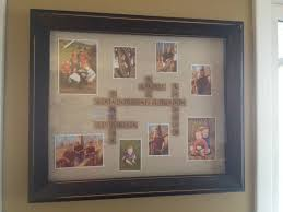 gift for grandma and grandpa from the grand kids shadow box