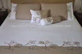 Bright Duvet Cover Cotton Bright Rose Embroidery Duvet Cover Jacquard Chinese Imports