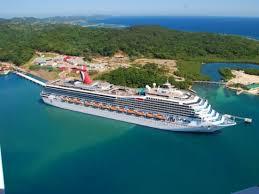 map of roatan honduras roatan island mahogany bay coxen honduras cruise ship
