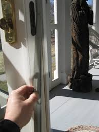 sliding glass door weather seal replacing weatherstripping a concord carpenter