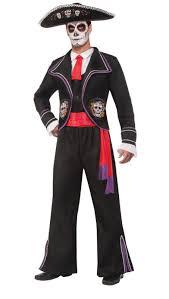 Man Costumes Halloween Men U0027s Dead Mariachi Macabre Costumes