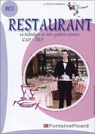 technologie cuisine cap 9782744609336 la technologie restaurant au cap et bep en 300