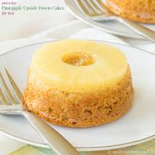 gluten free pineapple upside down cakes for two recipe