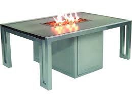 Rectangle Fire Pit Table Castelle Patio Fire Pit Tables Patioliving