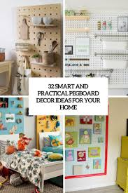 Pegboard Kitchen Ideas by 32 Smart And Practical Pegboard Ideas For Your Home Digsdigs