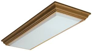 kitchen ceiling lights flush mount amazon com lithonia lighting 11432re wh cambridge linear t8 flush