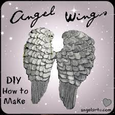 how to make angel wings out of cardboard and paper mache angel