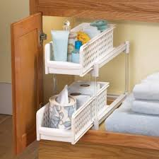 Organizing Bathroom Drawers Kitchen U0026 Bathroom Cabinet Pull Out Drawer Organizers Bathroom