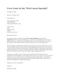 Cover Letter Sample Monster Cover Letter Samples Without A Contact Name Cover Letter Sample