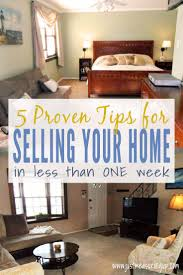 how to sell your home quickly five tried and true tips