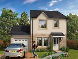 detached homes in laurencekirk kinkell with garage muir homes