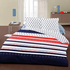 navy 100 cotton bed linen set duvet cover u0026 pillow cases