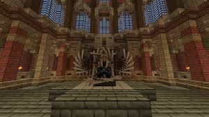 a messed up iron throne minecraft