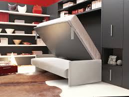 Wall Bed Sofa Systems Storage Wall With Fold Away Bed Circe Sofa By Clei Design Giulio