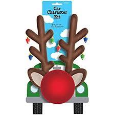reindeer ears for car festive christmas reindeer car decoration kit party