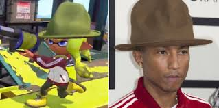 Pharrell Hat Meme - new nintendo direct reveals squid pharrell splatoon