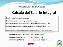 calculo referencial de prestaciones sociales en venezuela presentacion definitiva pasivos laborales 1